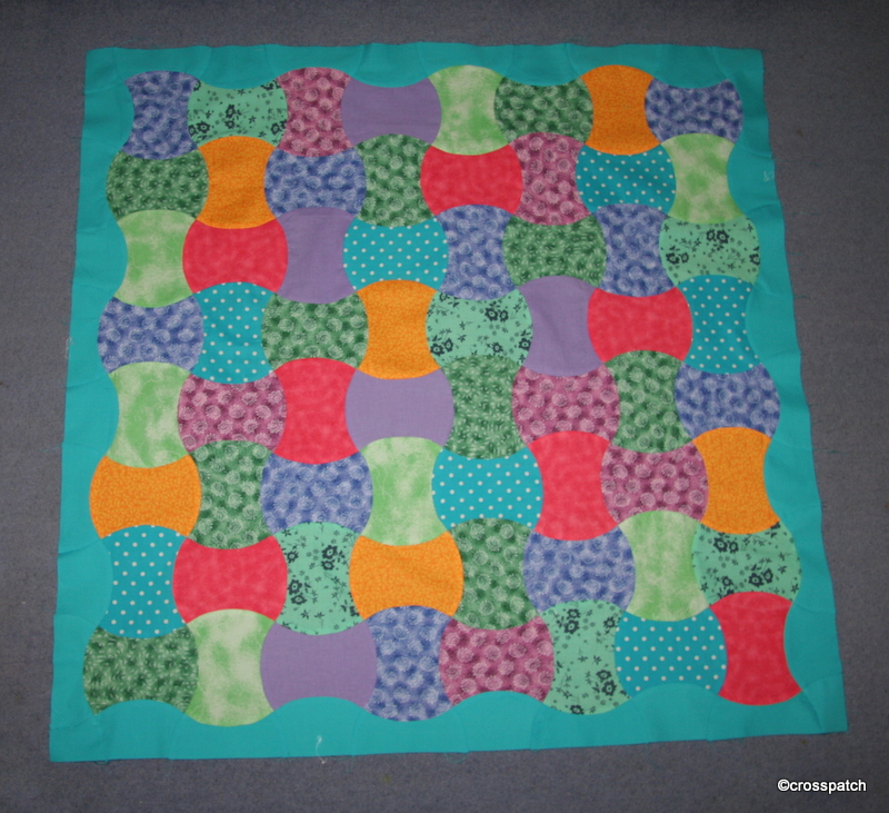 first Apple Core Quilt