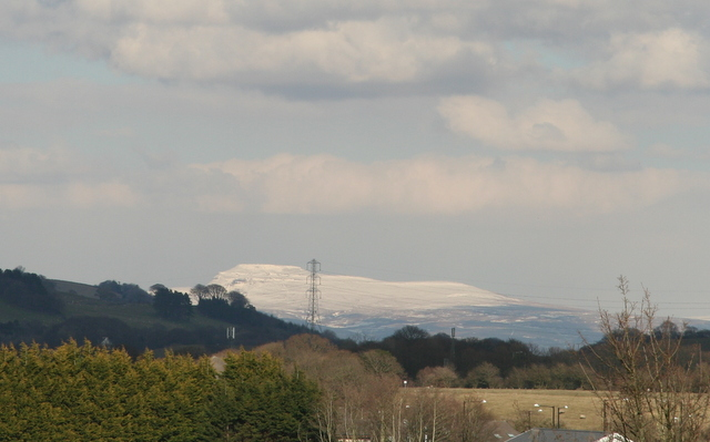 Snow Ingleborough