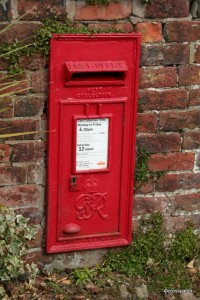 George VI post box