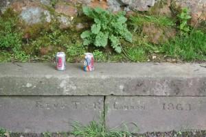 Same park bench 2013