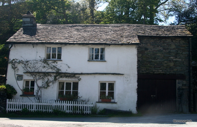 Typical Lakeland farmhouse in Elterwater