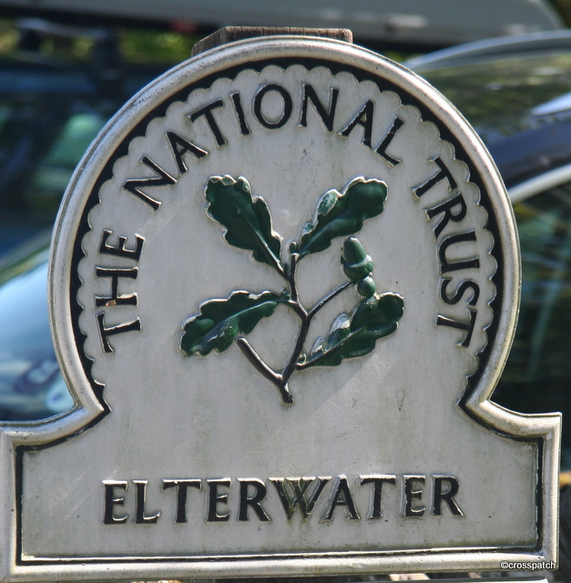 Free parking for National Trust members,that's lucky
