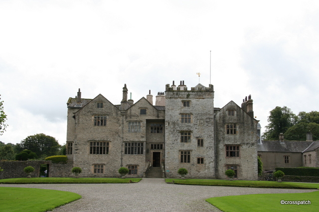 Levens Hall built around a 13th Century Pele tower