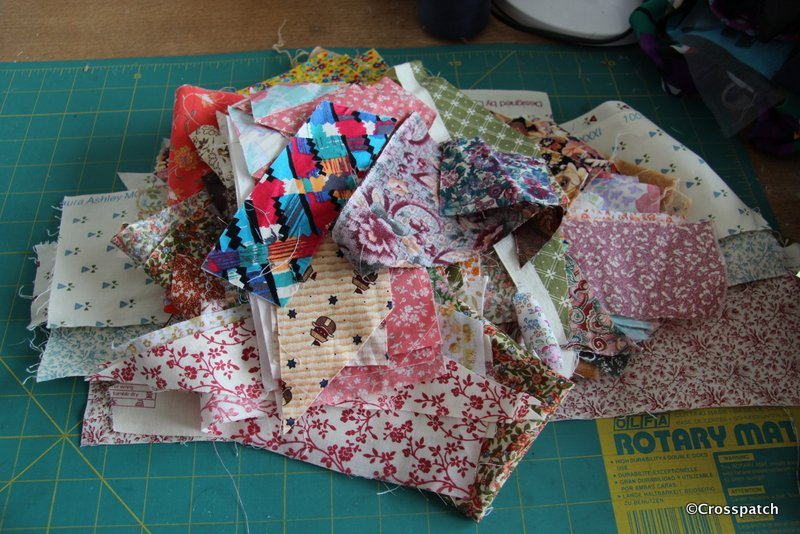 not scraps for crazy patchwork